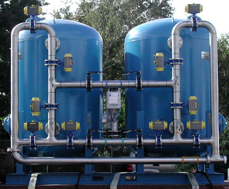 Automatic Multimedia Sand Filter ASFDC-6060-4/4/SS