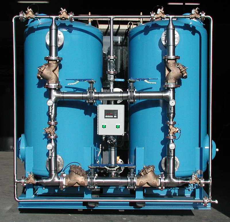 Automatic Duplex Industrial Water Softener ASD-3660-3/1/SS
